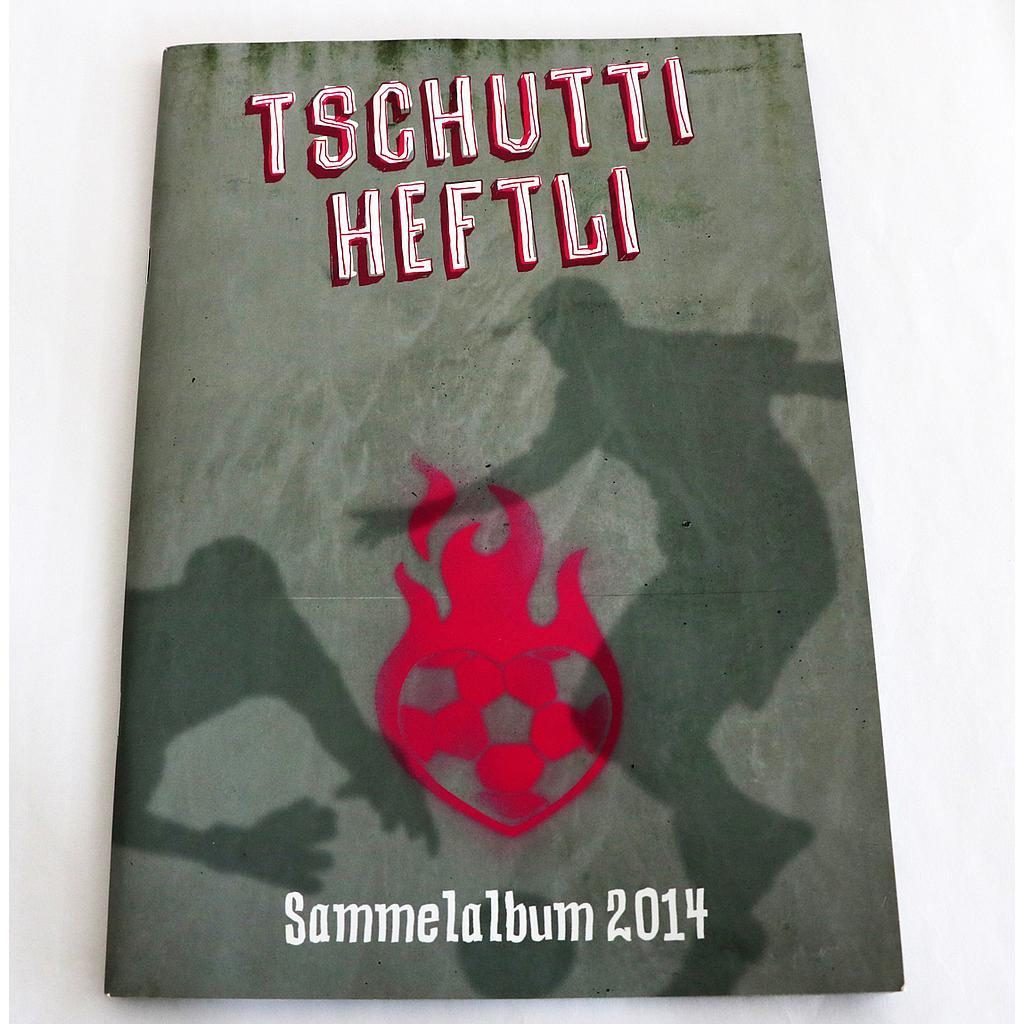 Tschutti WM2014 Album teilweise beklebt