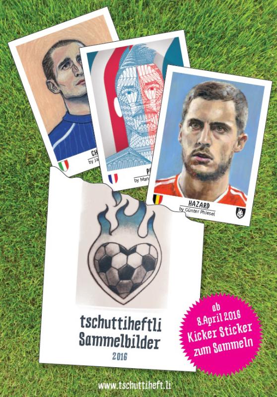 Sticker 2016 Tschuttti Stickersackerl