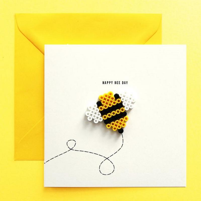 Grußkarte HAPPY BEE DAY