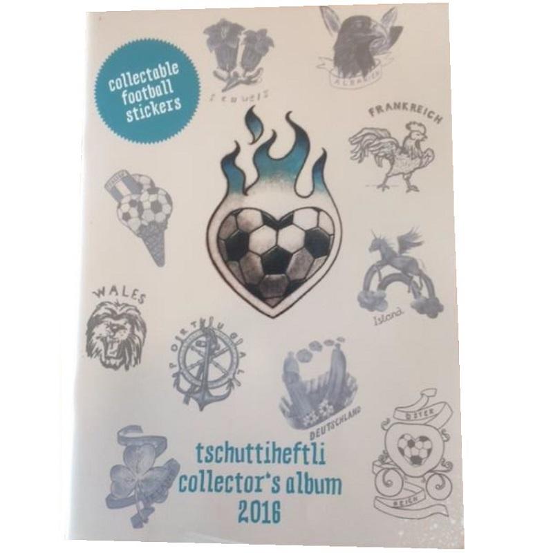 Tschutti EM2016 Album / ENGLISCH