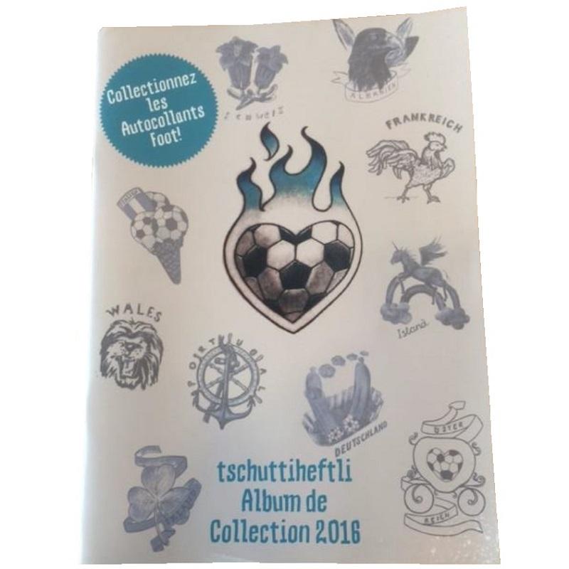Tschutti EM2016 Album / FRANZÖSISCH