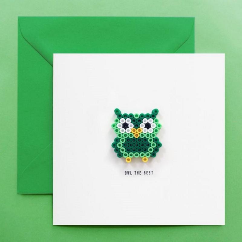 Grußkarte OWL THE BEST